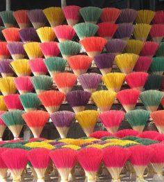 incense making village in hue