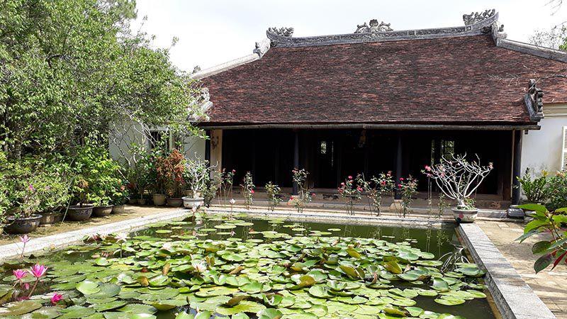 garden house in hue