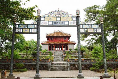 Minh Mang tombs Hue city