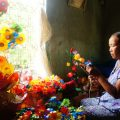 thanh tien paper flower making village
