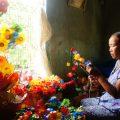 thanh tien paper flower making village