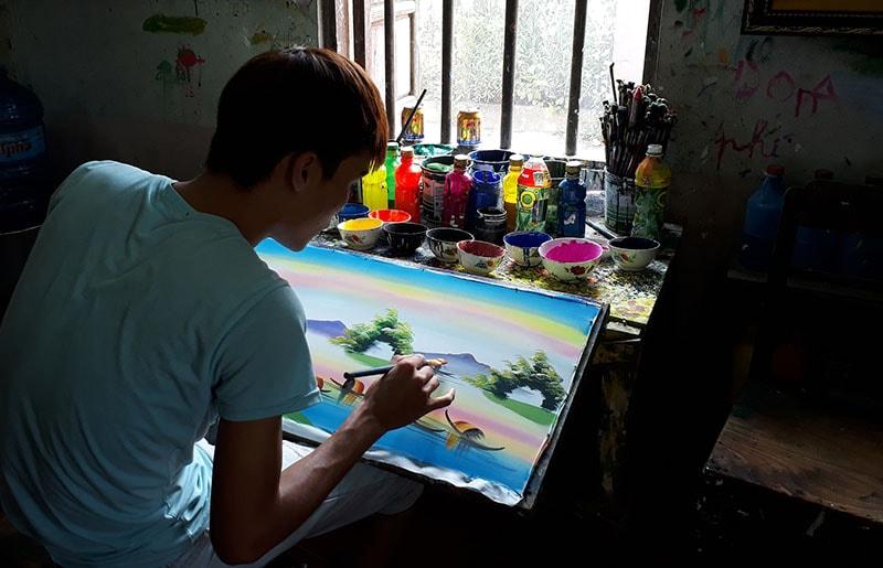 thuy bieu painting village